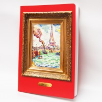 drawing book with Paul Signac illustration
