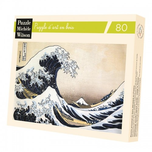 Puzzle Hokusai The wave - 80 pieces