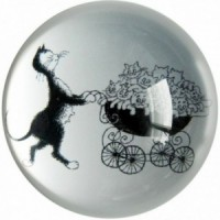 Paperweight The pram by Dubout