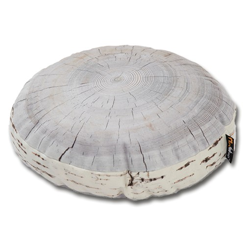 Birch Annual Ring Cushion 40cm