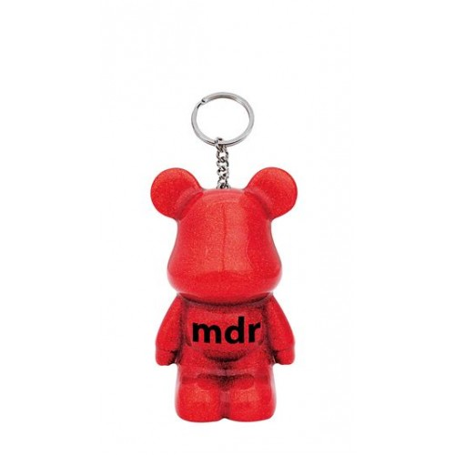 Funky Bear MDR key ring