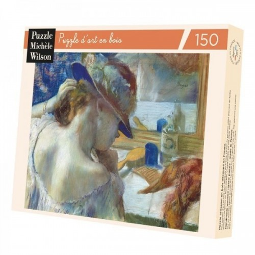 Wooden Art Puzzle - In front of the Degas mirror - 150 pieces