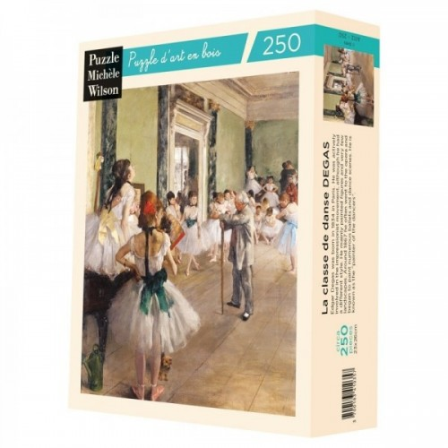 Wooden Art Puzzle - Degas Dance Class - 250 Pieces