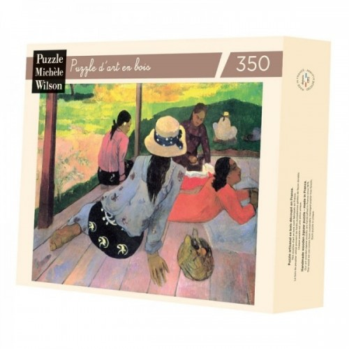 Wooden art puzzle - Gauguin nap - 350 pieces