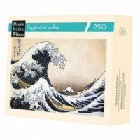 Wooden Art Puzzle - The Hokusai Wave - 250 Pieces