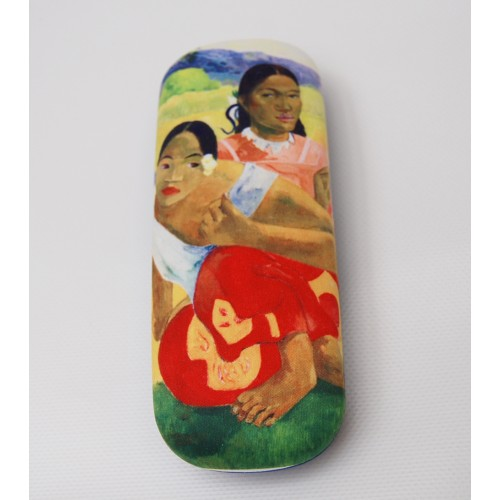 Glasses box with artwork When will you marry by Gauguin