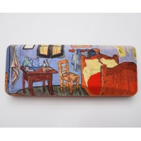 Glasses box with The bedroom by Vincent Van Gogh