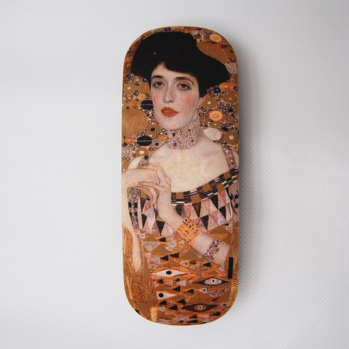 Glasses box with artwork Adele by Klimt