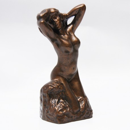 Sculpture collection color bronze Toilette de Vénus by Rodin