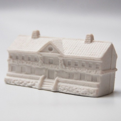 3d rubber eraser Giverny Monet's house