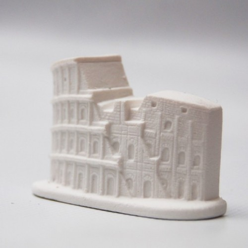 3d rubber eraser the Coliseum