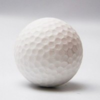3D rubber eraser golf ball