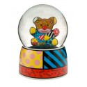 Figurine coco dog by Brazilian artist Romero Britto