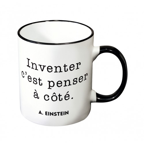 Mug avec une citation d'Albert Einstein
