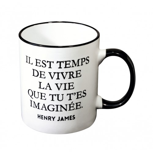 Mug avec une citation de Henry James