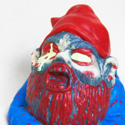 Crawling zombie garden gnome