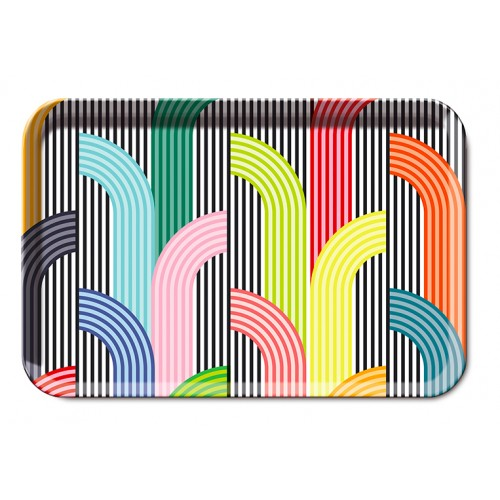 Tray memphis pattern small size