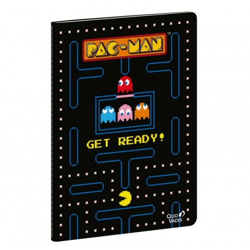 Pac-Man Lined notebook collector gamer