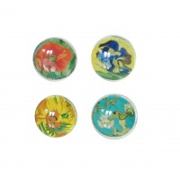 glass magnets with printed artwok by artist Van Gogh