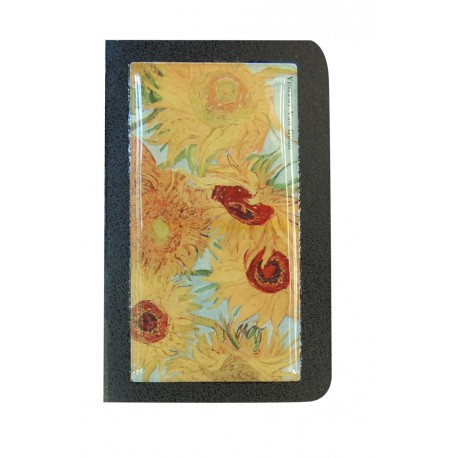 notebook Van gogh sunflowers gift giving