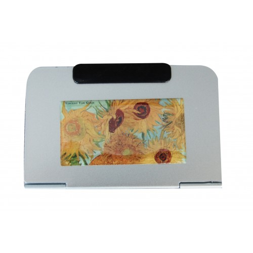 perpetual calendar Van gogh sunflowers gift giving