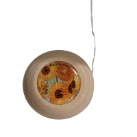 Yoyo with printed artwok by artist Van Gogh