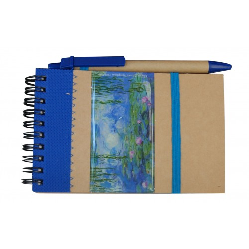 Notebook Monet Water Lilies gift giving