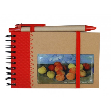 notebook monet waterlily gift giving