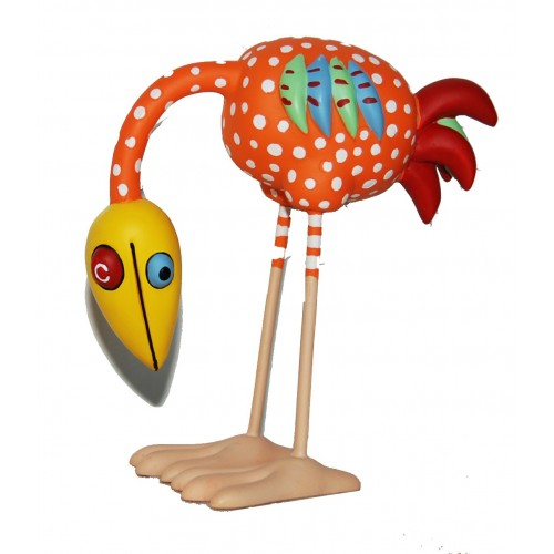 fun bird sculpture collector by windig - 10 cm