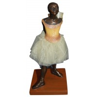 sculpture the little dancer inspired by degas