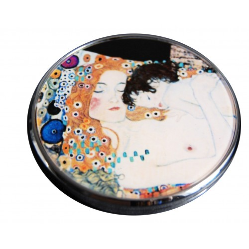 the kiss purse mirror by Klimt