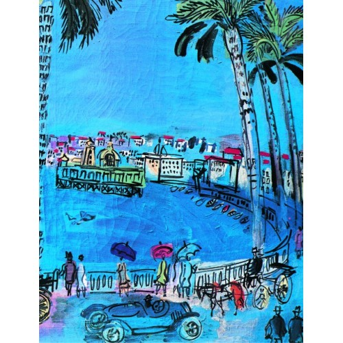 Book illustred by Raoul Dufy famous french riviera artist