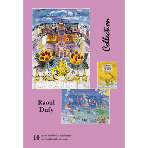 Cartes de collection avec illustration Raoul Dufy