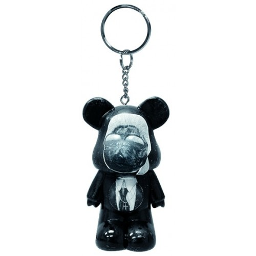 Porte clés Funky Bear Pets Rock Fashion