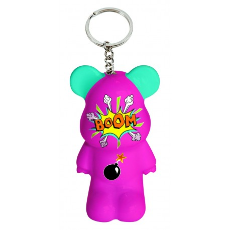 Funky Bear Comics key ring a concept created by O.A