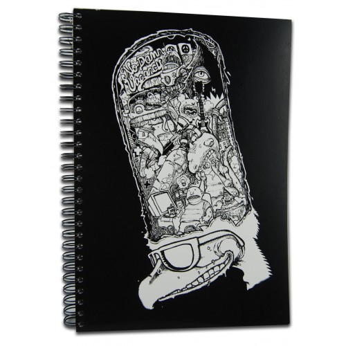 Notebook by the artist Benoit Carbonnel