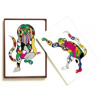 Set of 8 collectors serigraphies designed by Niki de Saint Phalle