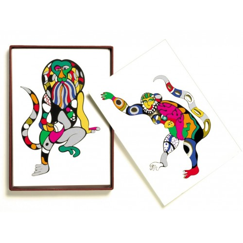 Cartes de collection Niki de Saint Phalle