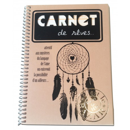 Spiral notebook with elastic by Alicia and Rafael Alonzo