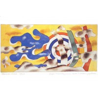 Painting poster by Fernand Léger