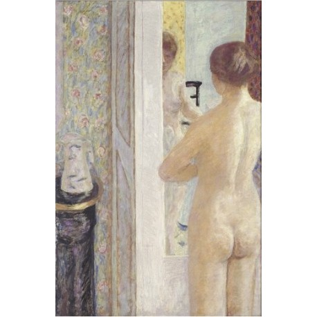 "Painting poster ""La toilette"" by Pierre Bonnard"