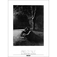 Photography poster Tuileries garden in Paris France by Brassai