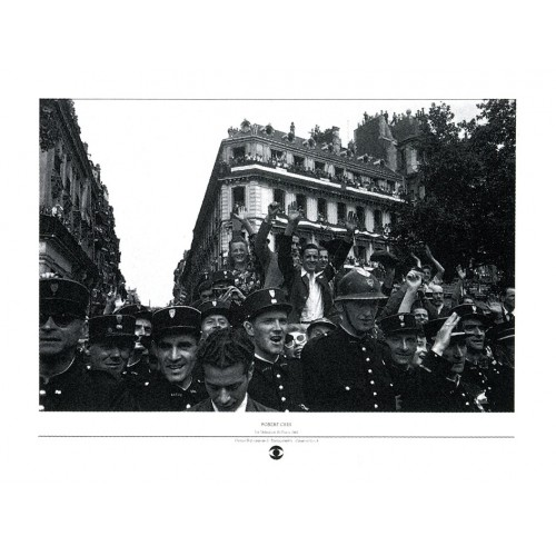 Affiche photo Libération de Paris Robert Capa