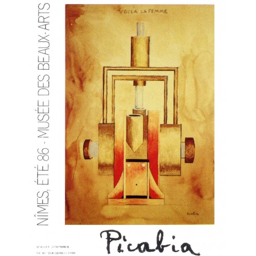 Painting poster by Picabia
