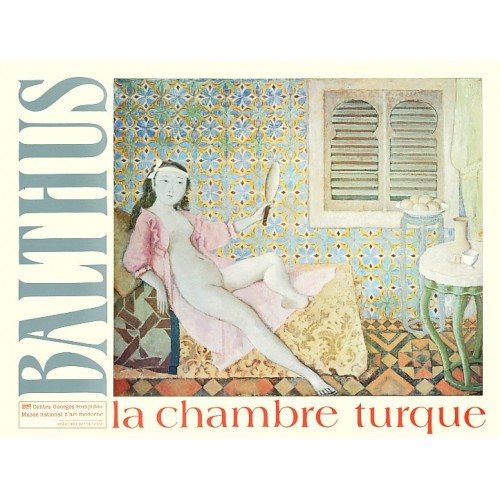 Painting poster La chambre turque by Balthus