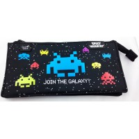 Pencil School case space invaders
