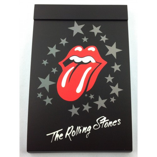 Notepad design Rolling Stones