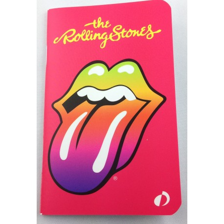 petit carnet de note design the rolling stones. Black Bedroom Furniture Sets. Home Design Ideas