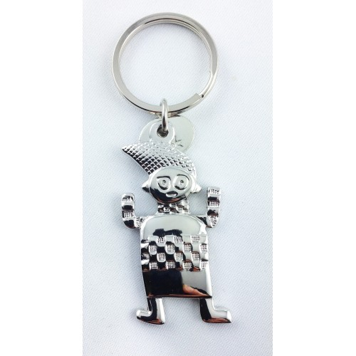 Keychain inspired by an African bush divinity