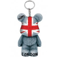 Funky Bear London Graffiti key ring a concept created by O.A